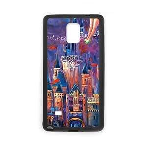 Magic Kingdom Case for Samsung Galaxy Note4,diy Magic Kingdom case
