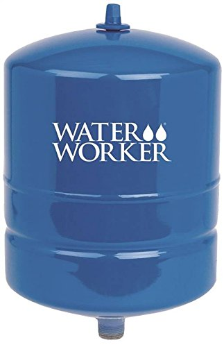 WaterWorker HT-4B Water Worker Vertical Pre-Charged Well Tank, 4 Gal, 3/4 In Mnpt, 100 Psi, Steel, 4-Gallon ()