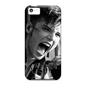 AlainTanielian Iphone 5c Shock Absorbent Cell-phone Hard Covers Allow Personal Design Lifelike Linkin Park Image [sMK6541gnwv]