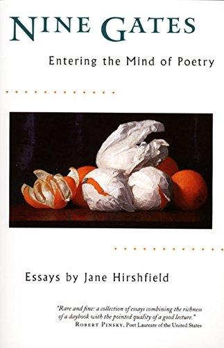 Nine Gates: Entering the Mind of Poetry, Essays [Jane Hirshfield] (Tapa Blanda)