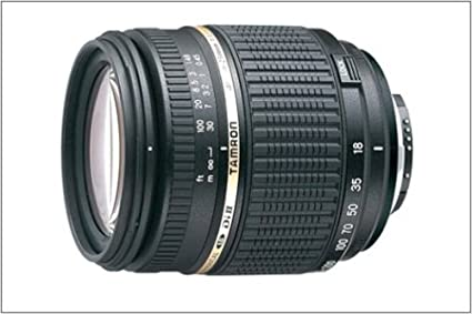 Tamron 18-250mm F/3 5-6 3 AF Di-II LD Aspherical (IF) Macro Lens for Nikon  Digital SLR Cameras