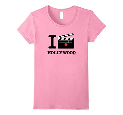 Womens I Love Hollywood, LA California Clapper Board Tee ...