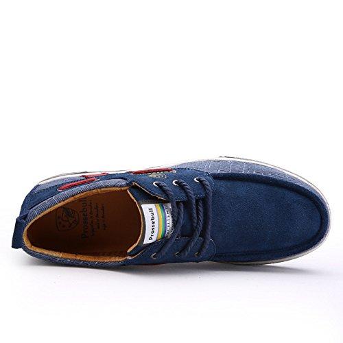 Prossebull Mens 2015 Mode Fritidsskor (eur 39, Brun) Blå
