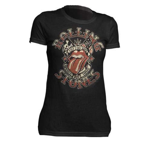 Juniors: The Rolling Stones - Tattoo You Tour Juniors (Slim) T-Shirt Size S