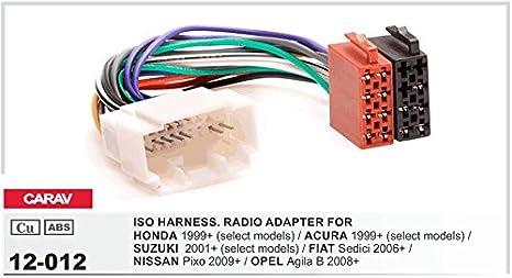 CARAV 09-001-12-6 2-DIN Marco de pl/ástico para Radio Adaptador Dash rodeado Trim Kit de instalaci/ón