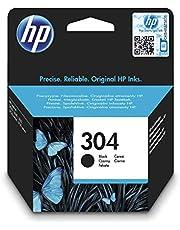 HP 304 cartouche d'encre noire authentique (N9K06AE)
