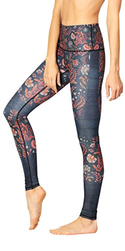 Yoga Democracy Eco-Friendly Festival Denim Leggings