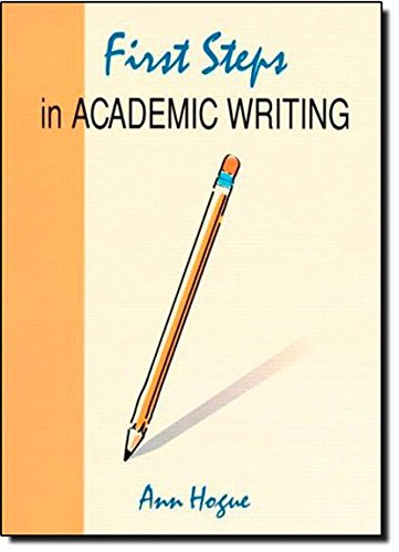 first steps in academic writing pdf free download