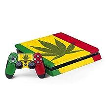Rasta PS4 Slim Bundle Skin - Marijuana Rasta Flag | Skinit Lifestyle Skin