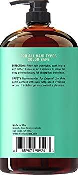 Majestic Pure Hair Loss Shampoo, Offers Natural Ingredient Based Effective Solution, Add Volume & Strengthen Hair, Sulfate Free, 14 Dht Blockers, For Men & Women - 16 Fl Oz 5
