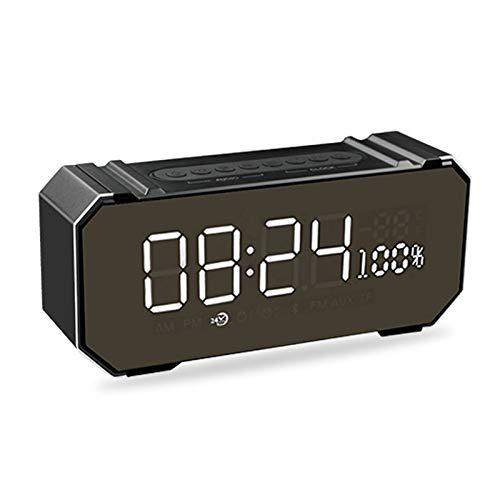 xingganglengyin Private Mode Alarm Clock Bluetooth Speaker Aluminum Wireless car subwoofer Computer Audio Radio by xingganglengyin (Image #5)