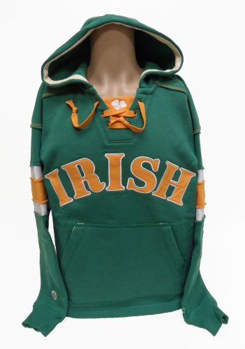 Jersey Reversible Gloves - Irish Hockey Hoodie Sweatshirt, X-Large