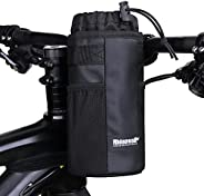 Rhinowalk Cycling Water Bottle Holder Bicycle Snack Bag Bike Cup Holder fit for Holding Large Cups, Coffee Mug