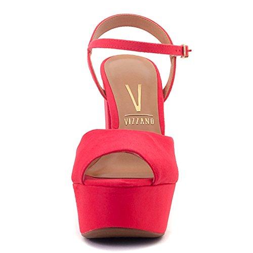 Vizzano Leila, sandales à talons- Rouge