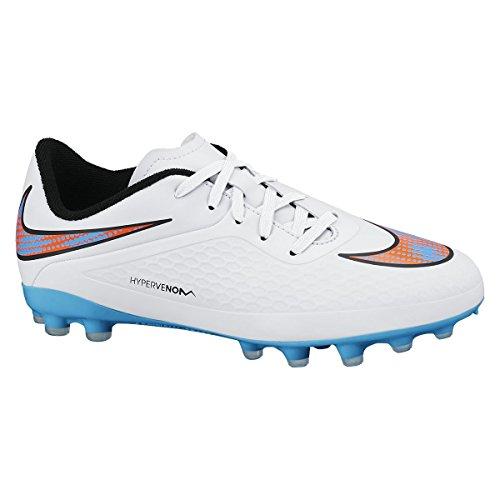 Nike Fútbol Jr. Hypervenom Phelon Ag WHT/BL