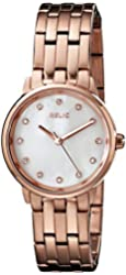 Relic Women's ZR34295 Small Perla Rose Gold Watch