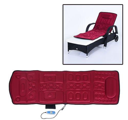 New MTN-G 10 Motor Full Body Massage Mat Vibrating Cushion Heat Magnetic Therapy (10 Motor Massage Mat)