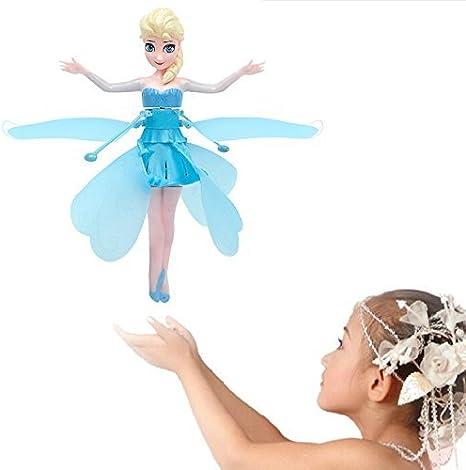 Disney Frozen Flying Princess Elsa Fairy Doll Sensor Control Music &  Lights, Electronics for Kids - Amazon Canada