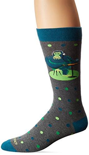 Artists Gorilla - K. Bell Socks Men's Shag Artist Series Crew Socks, Gorilla (Black), Shoe Size: 6-12