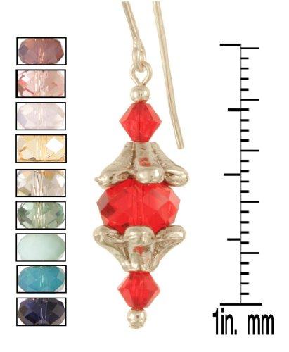 Venetian Sconce Earrings - Sterling Silver - Indigo (Sconce Silver Sterling)