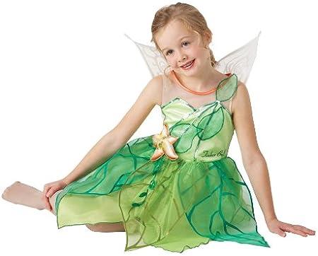 Rubies Disney I-884656L - Disfraz infantil de Campanilla con alas ...