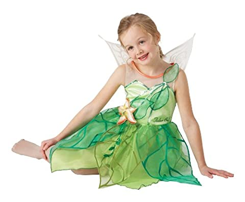 5-6 Years Girls Disney Tinkerbell Costume