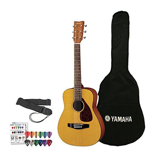 Yamaha JF-FG-JR1-KIT-1 3/4 Acoustic Guitar Kit with Gig Bag, Strap, Tuner, Instructional DVD and Pick Sampler