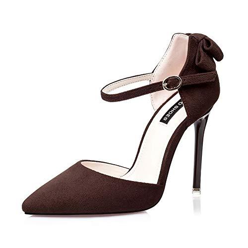 55 36 Marron Marron Compensées Sandales 55 3058 EU Femme No 33 5 Oq1Bcw