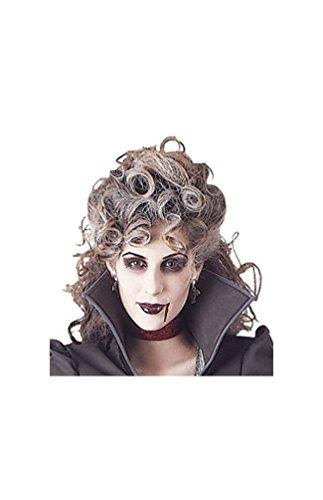 WonderCostumes Banshee Wig Grey