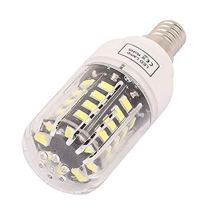 eDealMax corriente constante 85V ~ 265V 3W 40 x IC5736 LED E14 bulbo del maíz lámpara