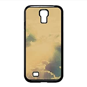 Sun Rays Through The Clouds Colorful Watercolor style Cover Samsung Galaxy S4 I9500 Case (Sun & Sky Watercolor style Cover Samsung Galaxy S4 I9500 Case)