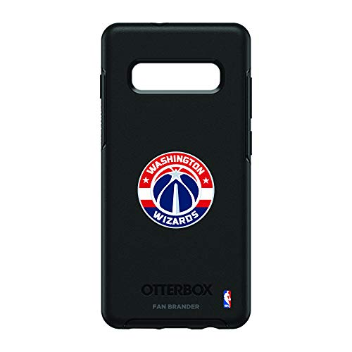 Fan Brander NBA Phone case, Compatible with Samsung Galaxy S10+ and with OtterBox Symmetry Series(Washington Wizards)