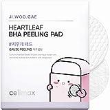 Celimax Ji.Woo.Gae Heartleaf BHA Peeling Pad. Smooth, but Effective 1-Step Exfoliation, 60 Pad, 125ml