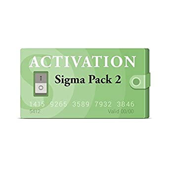 Sigma Pack 2 Activation For Sigma Box by Sigma