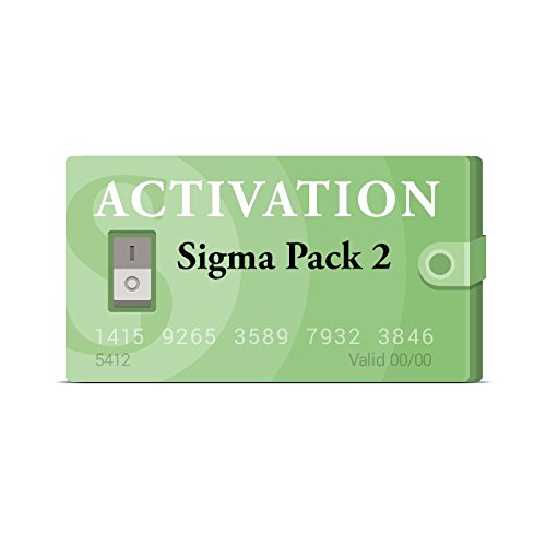 Picture of a Sigma Pack 2 Activation for 712096152203