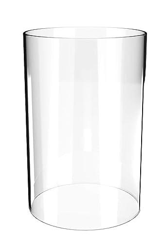Amazon.com: Jarrón cilíndrico de cristal – Cilindro abierto ...