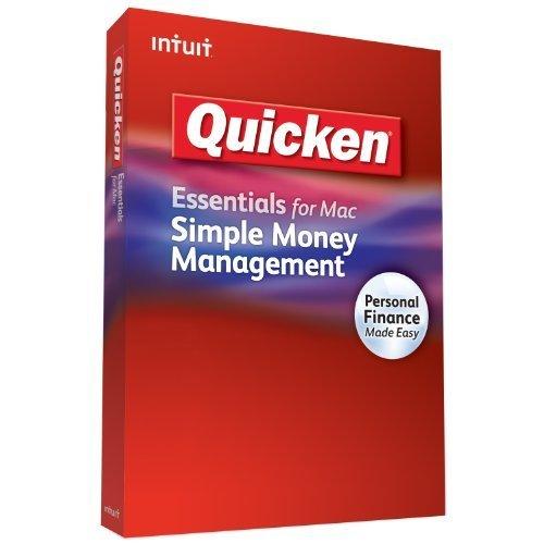 Intuit 413782 Quicken Essential MAC