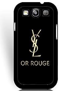 Samsung Galaxy S3 (I9300) Protective Fundas, TPU Fundas, Popular YSL Brand Logo Collection Fundas for Team/Sport