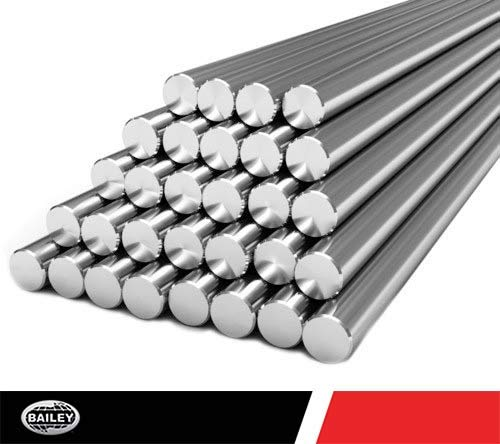 - 7//8 Outer Diameter 48 Inch Long Length PSI Yield: 75,000 0//-0.0015 Rod Tolerence Inch Dimensions Cut Steel Pre-Cut Assembly Chrome Rod 784507 in.