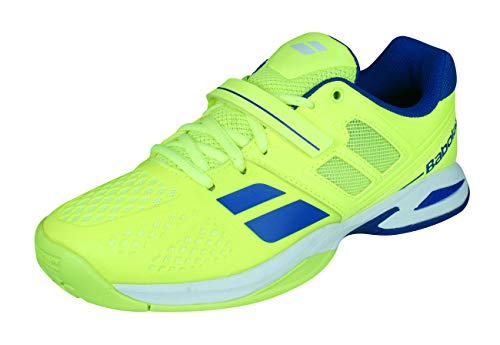 Babolat Propulse All Court Junior/Kids Tennis Sneakers/Shoes-Yellow-4.5, used for sale  Delivered anywhere in USA