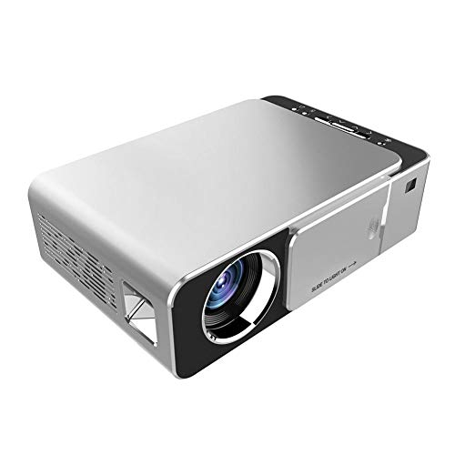 shallstore Mini 1080P Portable Projector,Video Mini Portable Projector Multimedia Home Theater Video Projector,Support HD 1080P HDMI/VGA/TF Card/AV/USB/Games/Smartphones from shallstore