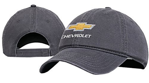 (Chevrolet Cotton Chevy Hat Charcoal One Size )