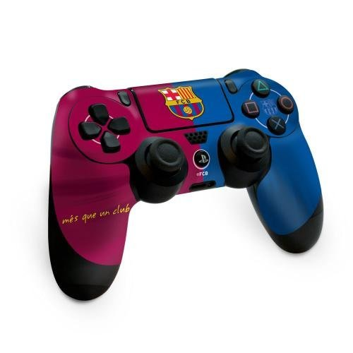 PS4 Controller Skin - F.C Barcelona - STICKER ONLY Footie Gifts