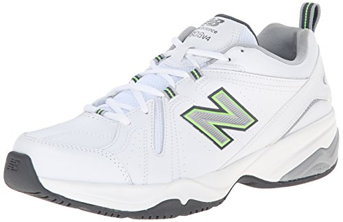 Men's MX608V4 Training Shoe,White/Silver,13 4E US