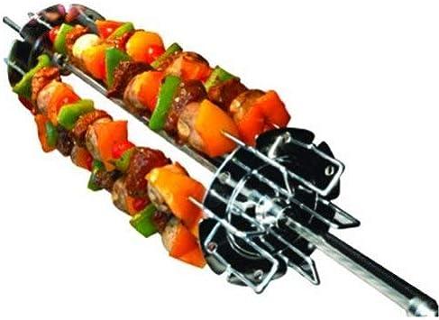 Napoleon Chrome Plated Steel Meat /& Vegetable Rotisserie Shish Kebab Wheel