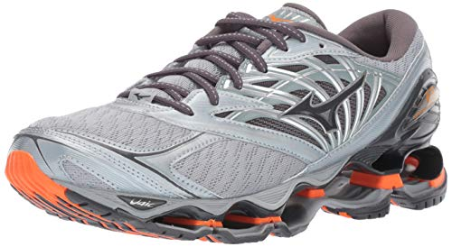 Mizuno Men's Wave Prophecy 8 Running Shoe, Quarry-Graphite 11 D US ()