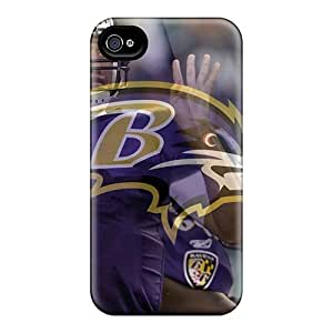 VUVDEAy1862cwaKV Case Cover Joe Flacco Baltimore Ravens Player Iphone 4/4s Protective Case