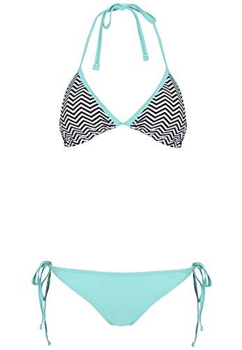 minh-green-black-zic-zac-ruched-back-triangle-side-tie-string-bikini-set
