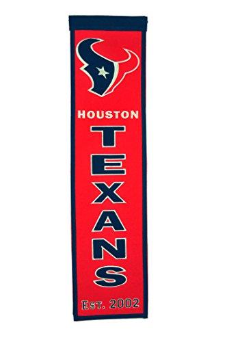 (NFL Houston Texans Heritage Banner)