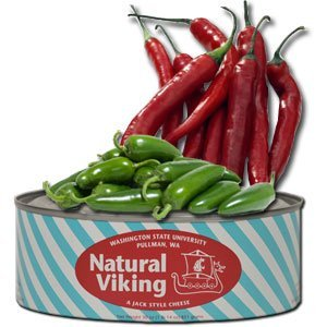 WSU Wazzu Creamery Viking Crimson Fire Cheese 30 Oz by WSU Creamery Viking Crimson Fire Cheese (Image #1)